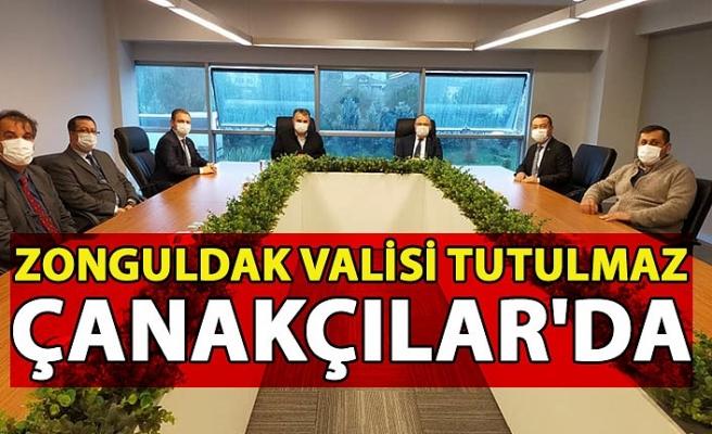 Zonguldak Valisi Tutulmaz Çanakçılar'da
