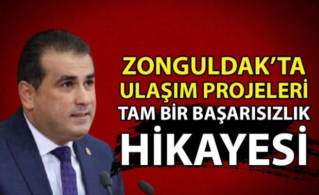 Zonguldak'ta ulaşım projeleri tam bir başarısızlık hikayesi