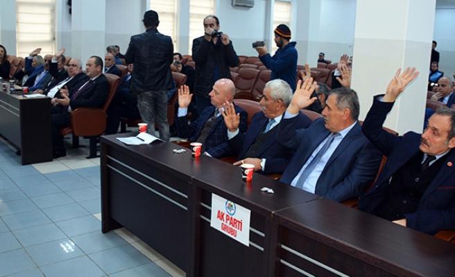 Belediye Meclisi, olağanüstü toplandı...