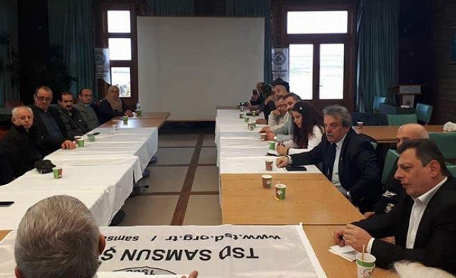 Karadeniz Başkanlar Kurulu'na katıldı...
