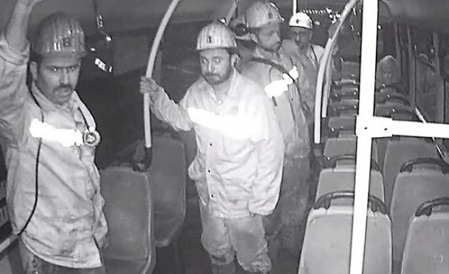 O madenciler coşkuyla alkışlandılar...