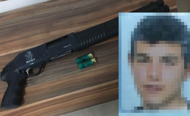 Pompalı tüfekle vurup kaçan saldırgan yakalandı...