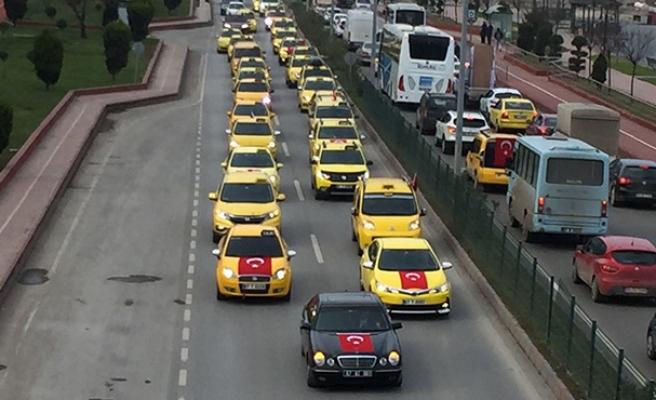 Afrin'e sarı destek...