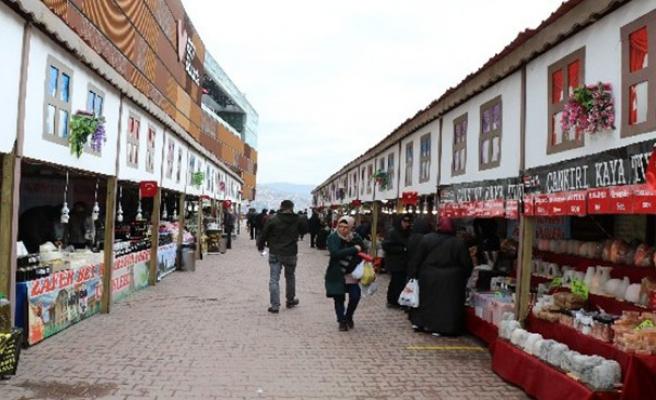 Türkiye'nin yöresel tatları Zonguldak'ta buluştu...