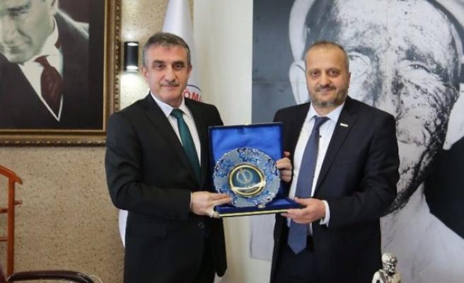 MÜSİAD'dan TTK Genel Müdürüne ziyaret…