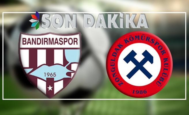Zonguldakspor, Bandırma'da yenik düştü...