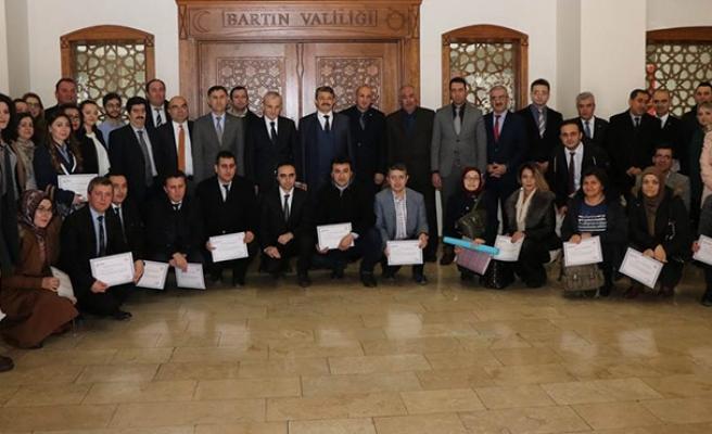 48 katılımcı sertifikasını aldı...
