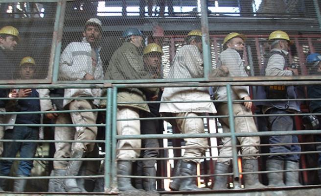 Madenciler tahliye edildi...