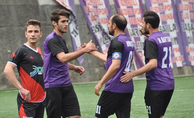 Alkışlar Ereğli için... 13 gol şampiyonluğa yetmedi
