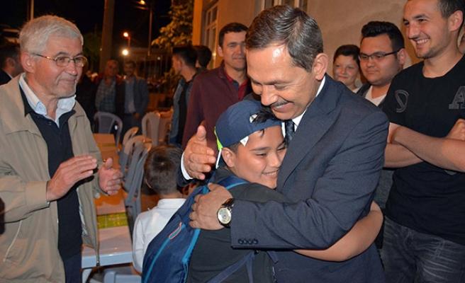 Başkan Uysal, iftarda gazilerle buluştu