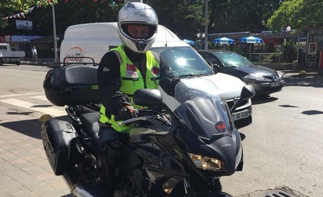 Motosiklet kulübü başkanından ders niteliğinde açıklama