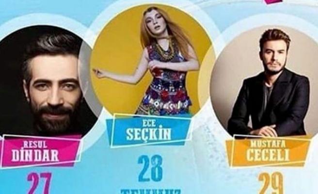 Resul Dindar, Ece Seçkin ve Mustafa Ceceli Filyos'ta!
