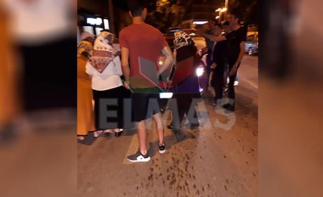Gazipaşada kaza... Hızlı giden araç kadına çarptı