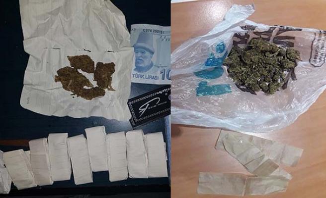 Uyuşturucu operasyonu: 4 kişi gözaltında