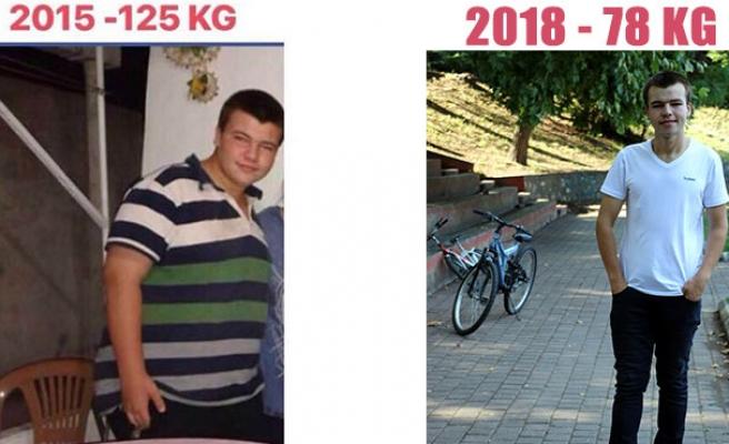 İnanılmaz değişim: 11 ayda 62 kilo verdi