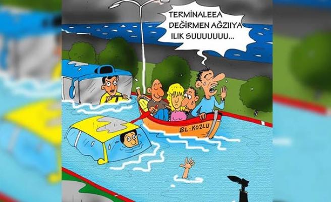 Zonguldak Belediyesi'ni kıskandı, O'da yaptırdı!