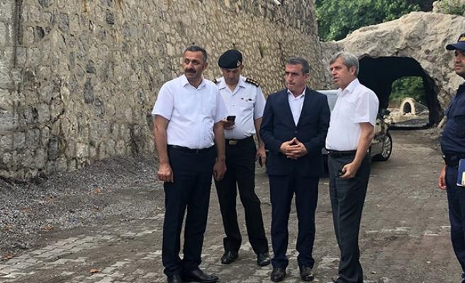 Vali Çınar Liman arkası tartışmalarına son noktayı koydu