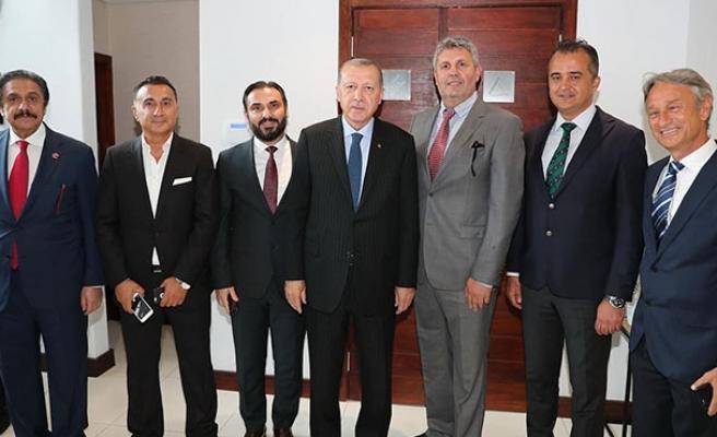 Cumhurbaşkanı Erdoğan ile Afrika'da buluştu!