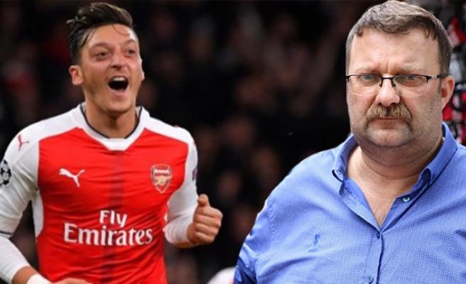 Süleyman Caner, Mesut Özil'e talip oldu