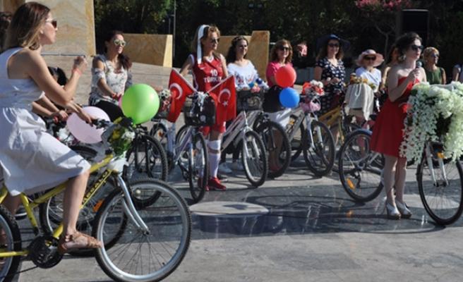 Bisiklet turuna yoğun ilgi