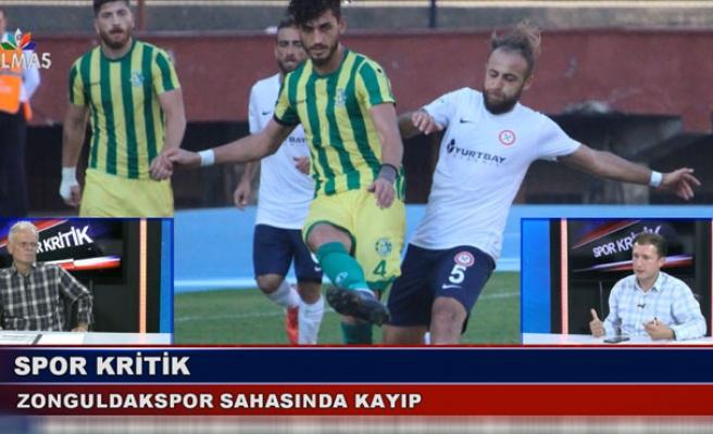 Zonguldakspor sahasında kayıp, Spor Kritik'de konuşuldu