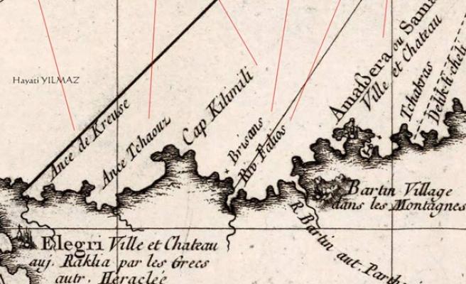 1772 yılında Zonguldak... İşte  o dönemin isimleri