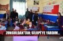 Zonguldak'tan, Silopi'ye yardım...