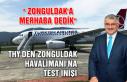 THY'den Zonguldak Havalimanı'na test inişi......