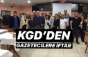 KGD'den gazetecilere iftar