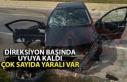 Kastamonuda kaza: 8 yaralı var