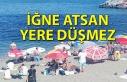 Zonguldak'ta halk Kapuz Plajı'na akın...