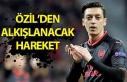 Zonguldaklı ünlü futbolcu Mesut Özil'den alkışlanacak...