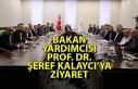 Bakan Yardımcısı Prof. Dr. Şeref Kalaycı'ya...