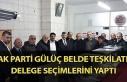 AK Parti Gülüç Belde Teşkilatı delege seçimlerini...