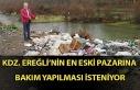 Kdz. Ereğli'nin en eski pazarına bakım yapılması...