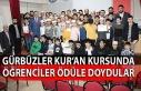 Gürbüzler Kur'an Kursunda öğrenciler ödüle...