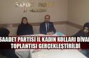 Saadet Partisi İl Kadın Kolları Divan toplantısı...