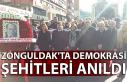 Zonguldak'ta Demokrasi Şehitleri anıldı