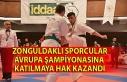 Zonguldaklı sporcular Avrupa Şampiyonasına katılmaya...