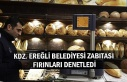 Kdz. Ereğli Belediyesi zabıtası fırınları denetledi