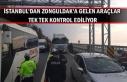 İstanbul'dan Zonguldak'a gelen araçlar...
