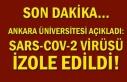 Son dakika… Ankara Üniversitesi açıkladı: SARS-COV-2...