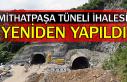 Mithatpaşa tüneli ihalesi yeniden yapıldı