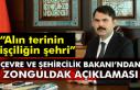 Çevre ve Şehircilik Bakanı'ndan Zonguldak açıklaması