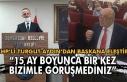 CHP'li Turgut Aydın'dan Başkana eleştiri....