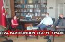 Deva Partisi'nden ZGC'ye ziyaret