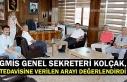 GMİS Genel Sekreteri Kolçak, tedavisine verilen...