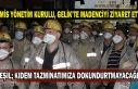 Gmis yönetim kurulu, Gelik'te madenciyi ziyaret...