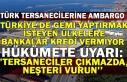 Türk tersanecilerine ambargo... Hükümete uyarı:...