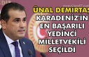 Ünal Demirtaş Karadeniz'in en başarılı yedinci...